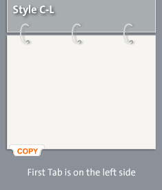 Tab Style CL